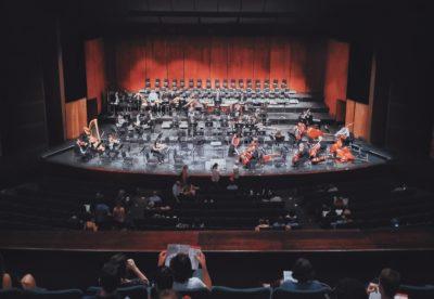 Orquestra em casa!